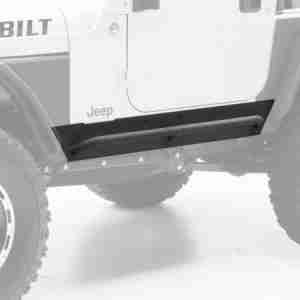 Smittybilt XRC Rock Sliders for 1997-2006 Jeep Wrangler TJ