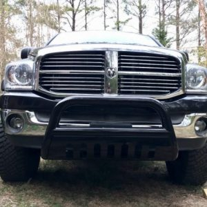Example Smittybilt Grille Saver for Dodge Ram 1500