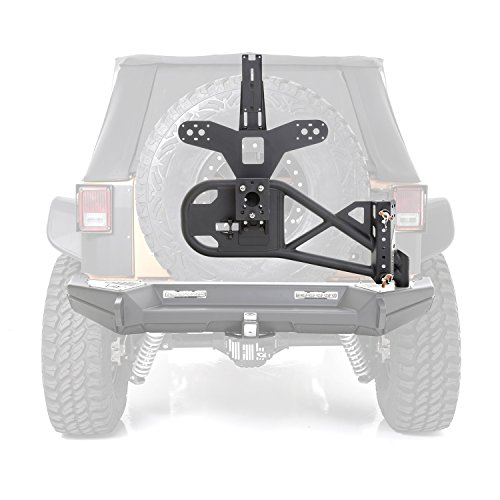 Smittybilt-76857LT-Gen2-Bolt-On-Tire-Carrier-Xrc-Gen2-Lite-Texture-76857Lt-1-Pack-0-0