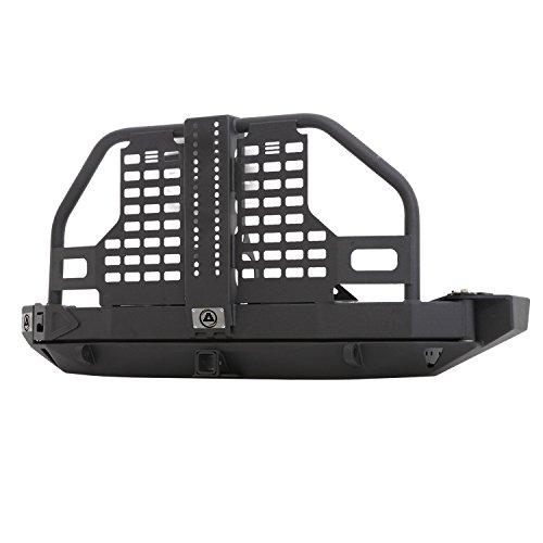 Smittybilt-76896-XRC-Atlas-Rear-Bumper-And-Tire-Carrier-0