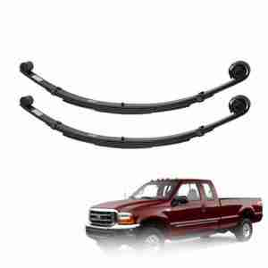 Pro Comp 22410 - 4 Pair of Front Leaf Springs for 99-04 Ford F250 F350
