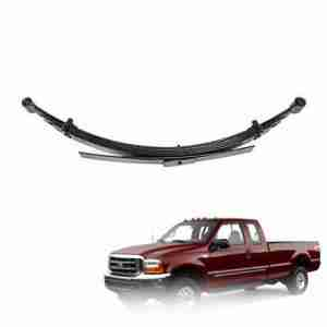 Pro Comp 22415 Rear 4 Lifted Leaf Springs - 99-07 Ford F250 F350 4WD