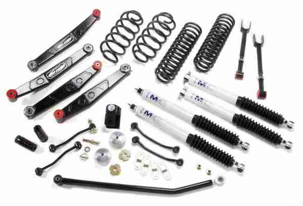 "Pro Comp 4"" Stage 2 Suspension Lift Kit for 2007-2018 Jeep Wrangler JK / Unlimited"