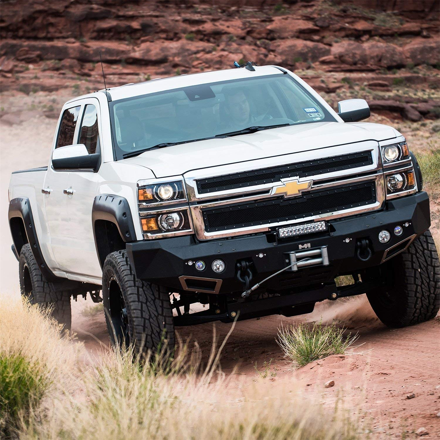 6 Inch Lift Kit For Chevy Silverado 1500 >> Pro Comp 6 Suspension Lift Kit For 2014 2016 Chevrolet Silverado 1500 Gmc Sierra 1500