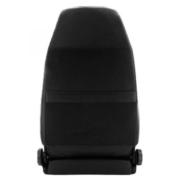 Smittybilt Factory Replacement Seat for 1976-2002 Jeep CJ5 / CJ7 / CJ8 Scrambler / Wrangler TJ / YJ - Black Vinyl