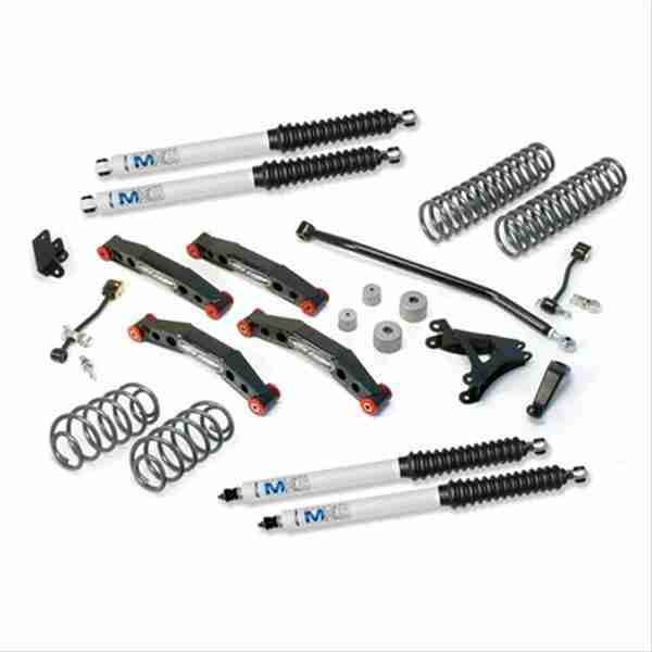 """Pro Comp 4"""" Stage 2 Suspension Lift Kit for 2004-2006 Jeep Wrangler TJ Unlimited"""