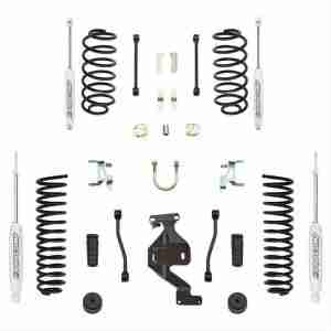 "Pro Comp 4"" Stage I Suspension Lift Kit for 2007-2018 Jeep Wrangler JK"